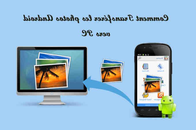Comment transférer des photos de mon téléphone vers ma tablette?