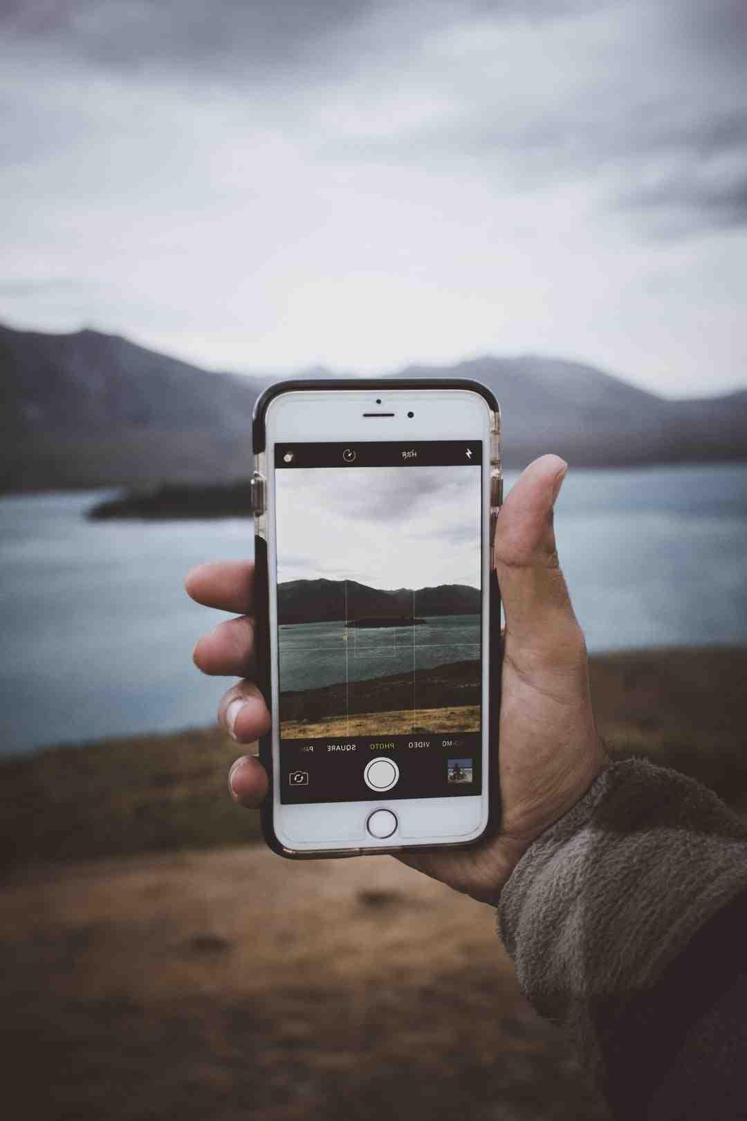Comment enregistrer une photo en JPEG sur iPhone ?