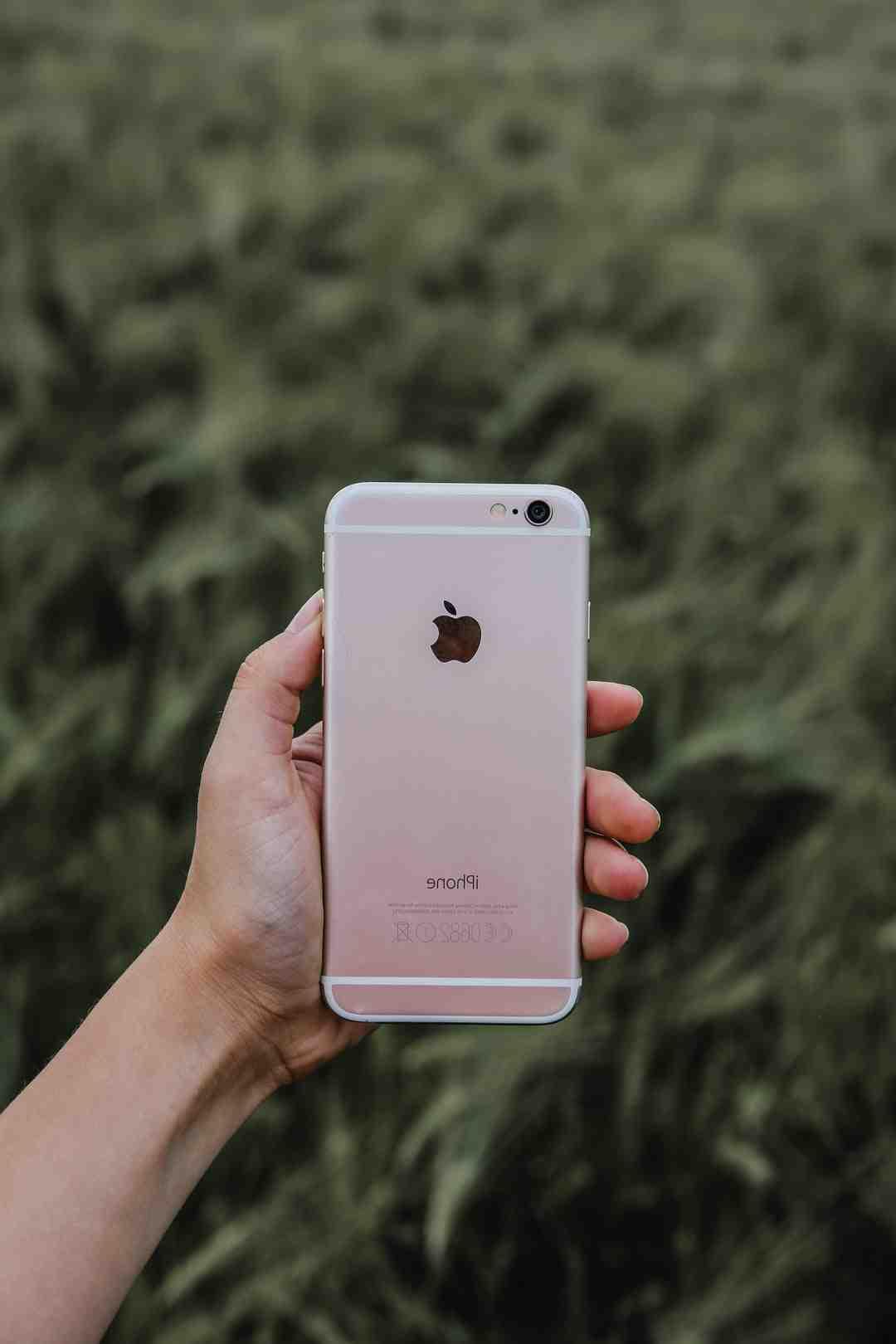 Comment faire pour enregistrer une photo sur iPhone ?